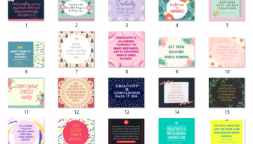 20 Inspiring Quotes about Creativity and Crafts