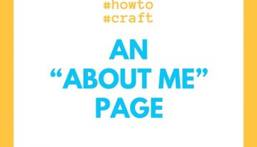 """How To Craft An """"About Me"""" Page?"""