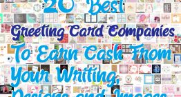 20 Best Greeting Card Companies To Earn Cash From Your Writing, Designs and Images