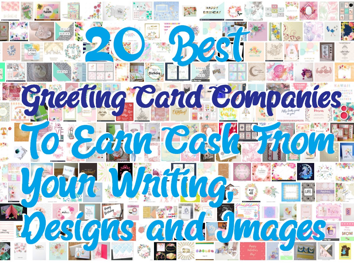 20 Best Greeting Card Companies To Earn Cash From Your Writing