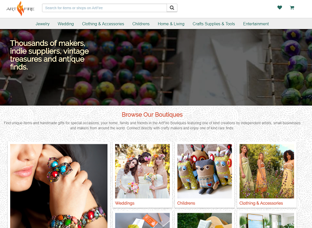 32 Marketplaces Online to Sell Your Handmade Crafts