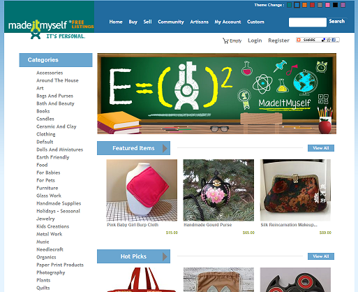 Websites That You Can Sell Arts And Crafts