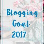 blogging goal 2017 title box