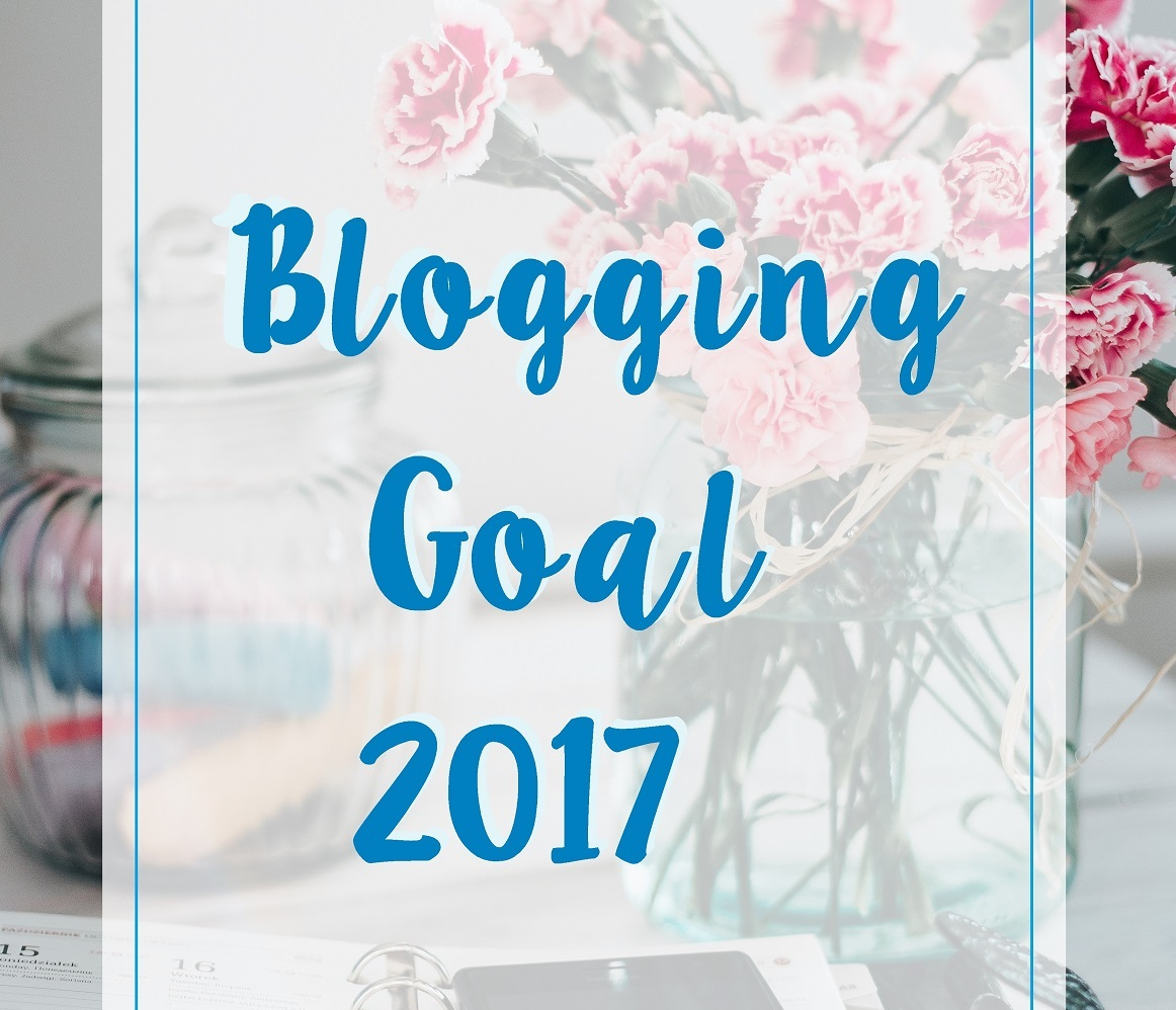 blogging goal 2017 title box