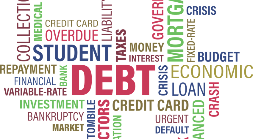 How To Worry Less About Being In Debt?