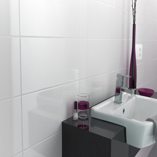 Amazing How To Make A Small Bathroom Look Bigger With Tiles Download Free Architecture Designs Momecebritishbridgeorg