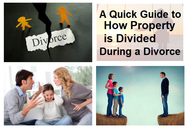 A Quick Guide to How Property is Divided During a Divorce