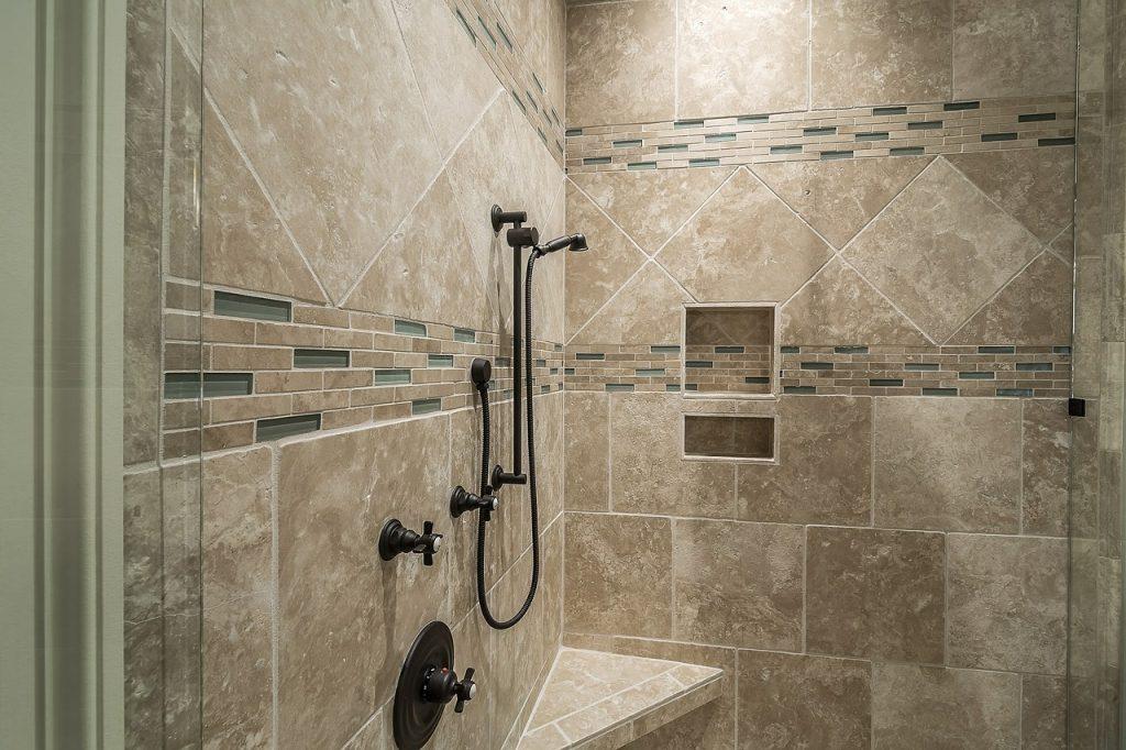 retiling shower