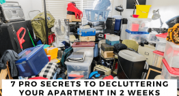 7 Pro Secrets to Decluttering Your Apartment in 2 Weeks